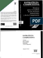 Estrategia Competitiva Michael E Porter