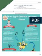 Infografía y Esquema Nueva LCSP