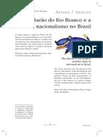 O Barão Do Rio Branco e Valafane