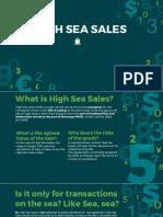 High Sea Sales