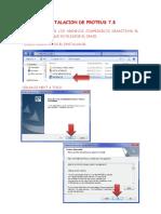 Manual de Instalacion de Proteus.pdf
