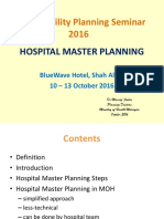 Hospital Services Physical Expansion Plan (Hosp .Masterplan) - Dr .Maarof