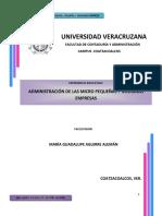 Antologia de Administracion en Las PYMES