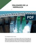Generalidades de La Hidráulica