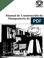 Manual de Construcción de Mampostería de Concreto