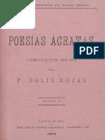 Poesía Acrata i