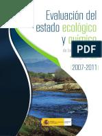 Evaluación del Estado Ecológico y Químico de las Masas de Agua. Categoría Ríos de la Cuenca Hidrográfica del Tajo (2007-2011).pdf