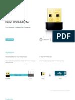 Tl-wn725n(Eu&Us) v3 Datasheet