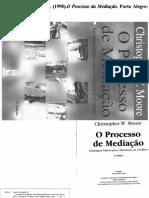 O Processo de Mediação - Estratégias Práticas Para a Resolução de Conflitos - Christopher W. Moore