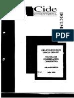 Mella, O. Grupos focales. CIDE.pdf