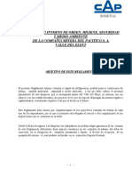 Cap Mineria Proveed Reglamento Interno Ohsm Elqui