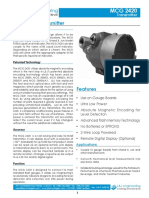 MCG2420-3D Transmisor de Nivel