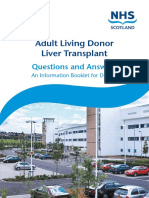 Sltu Living Donor Booklet