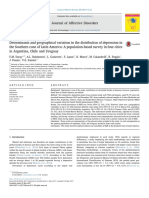 Determinants and Geographical Variation in the Distribution of Depression