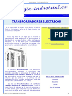 Transformadores - Transformadores Eléctricos