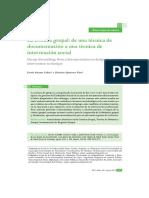 Articulo La Crónica Grupal en castelllano.pdf