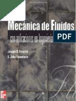 Mecánica De Fluidos Con Aplicaciones En Ingeniería - Joseph B. Franzini & E. John Finnemore - 9na Edición.pdf