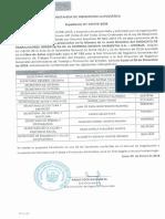 Junta Directiva SITOBUR , Constancia de Inscripción Automática MTPE