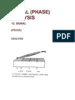 Signal (Phase) Analysis