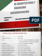 Catálogo Antropometría