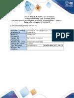 Guia de Actividades y Rubrica de Evaluacion- Paso 2 - Desarrollo Temas de La Unidad 1