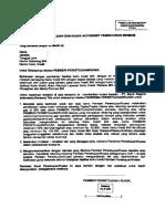 Surat Kuasa Cc BNI