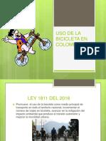 Uso de La Bicicleta en Colombia