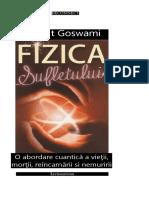 Amit Goswami Fizica Sufletului
