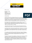Kucinich Letter to ODP