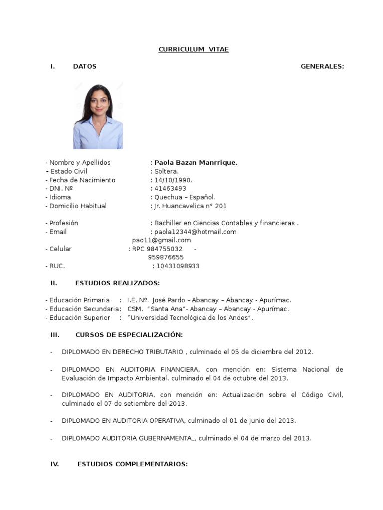 Encantador Muestra De Currículum Para Pasante De Finanzas Componente ...