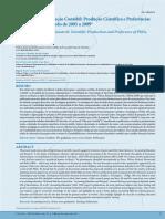 A Pesquisa em Educação Contábil- Produção Científica e Preferências de Doutores no Período de 2005 a 2009