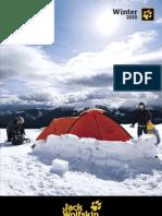 Jack Wolfskin-Katalog Zima 2010
