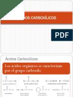 ACIDOS CARBOCILICOS