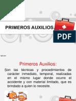 PRIMEROS AUXILIOS. PRESENTACION.