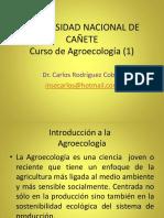 Sesión 1 Introducción a La Agroecología