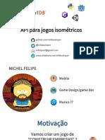 API para jogos Isométricos