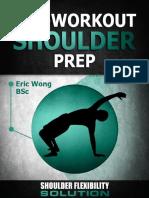SFS Pre Workout Shoulder Prep