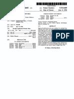 1998 Rescalli Snamprogetti 5763660 Urea Process