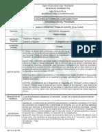 Informe Programa de Formación Complementaria Basico Operativo