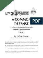 FUR2-01 - A Common Defense (1-8)