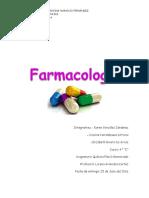 FARMACOLOGÍA CUESTIONARIO
