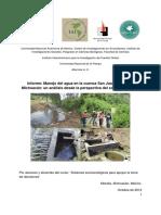 Manejo del agua en la cuenca Zitácuaro