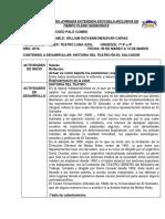 Agenda Tema El Teatro en El Salvador