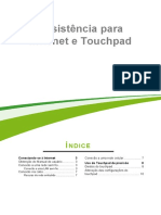 Assistência para Internet e Touchpad