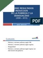Pobreza y Desigualdad Resumen 2010