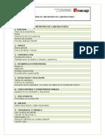 Pauta de Elaboracion de Informes de Laboratorio