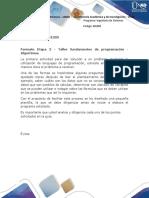 Formato Etapa 2 - Ejercicio 1