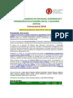 Economia social y solidaria DIPESS 2018