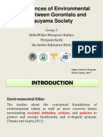 The Differences of Environmental Ethics Between Gorontalo and Matsuyama Society
