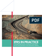 IFRS in Practice Distinguishing Between a Business Combination and an Asset Purchase in the Extractives Industry (Print)